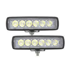 6 Inch Led Work Light Anblub 6 Inch Led Work Light Bar Spotlight 18w 12v Car Truck