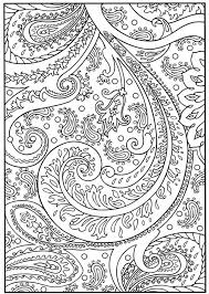 Small Picture Floral Flourish and Embellishments Adult Coloring Printable The