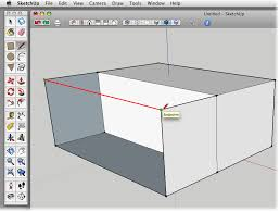 Sketchup assumes you want to continue drawing lines, so. 4 Drawing A Basic House Google Sketchup The Missing Manual Book