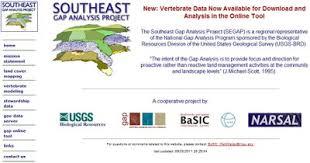 Southeast Gap Analysis Project — Appalachian Lcc