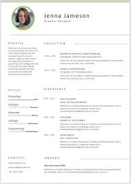Simple resume layout for conservative industries, which is a minimalistic upgrade from the traditional resumes. Resume For Graphic Designer Fresher Template Word Pdf Format Umilly Com