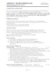 Asp Resume Sample Database Developer Resume Template Net Aspnet