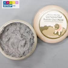 <b>Очищающая</b> глиняно-<b>пузырьковая маска</b> Elizavecca Carbonated ...