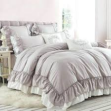 ruffle duvet cover vintage from full bloom cottage ruched twin xl white