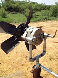 Homemade generator Small Turn Car Alternator Into Alternative Energy By Building This Cheap And Easy Homemade Wind Generator Pinterest Diy Wind Turbine Renewable Energy Wind And Solar Pinterest
