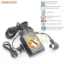 bluetooth link car kit with aux in interface adapter for volvo c70 2006 Volvo S40 Radio Replacement at 2006 Volvo S40 Bluetooth Wiring Diagram