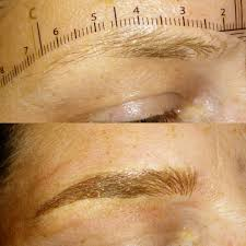 these two procedues offer both brow techniques bined for a shaded brow depending on if you need more or less enhancement both are microbladed stroke