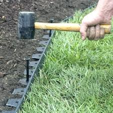 lawn edgings stone how to lay landscape edging blocks stone edging concrete landscape edging ideas with