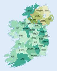 By Counties - Of Population Wikipedia List Irish