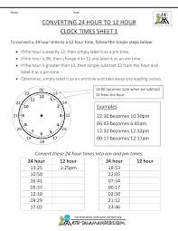 Hour Sheet Calculator Military Time Conversion Chart Minutes And Hours Sheet