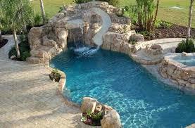 water slide for inground pool slides banzai above ground inground pools with waterslides v47 inground