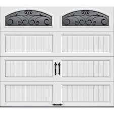 roll up garage doors home depotClopay Gallery Collection 8 ft x 7 ft 65 RValue Insulated
