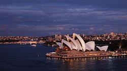Сіднейський оперний театр Вікіпедія the sydney opera house at dusk jpg