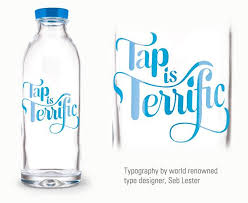 tap is terrific reusable glass water bottle