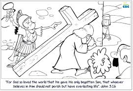 John 3 16 Coloring Page John Bible Coloring Pages John 3 16 March