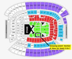 Amazing Seats Taylor Swift Reputation Tour First Energy