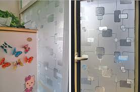 office glass door design sticker