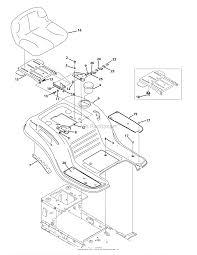 Troy bilt 13wm77ks011 pony 2015 parts diagram for seat