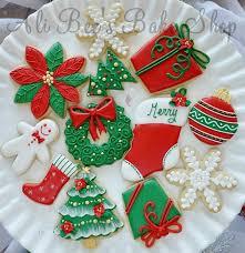 round christmas sugar cookies. Unique Cookies AliBeeu0027s Bake Shop In Round Christmas Sugar Cookies