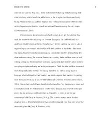 domestic abuse paper domestic abuse