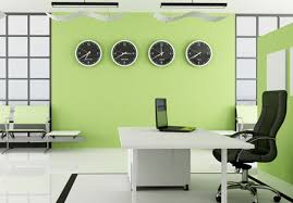 office color. Modern Commercial Interiors: How To Fit Out Busy Offices | Office Color Schemes, And Paint O