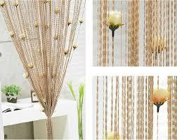 flecos con flores decorar con flecos fringe string curtains ideas para decorar con