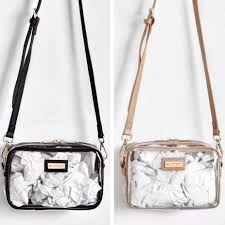 Clear Designer Totes Pin On The Collection