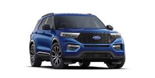 2017 Ford Explorer Color Chart 2020 Ford Explorer Suv Models Specs Ford Com