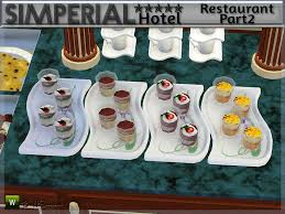 on the sims resource sims 3 wall art with buffsumm s hotel simperial restaurant dining deco addon