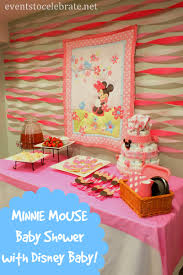 minnie mouse baby shower ideas eventstocelebrate net