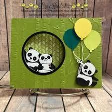 265 Best <b>PANDA</b> BEAR CARDS images | Cards, Marianne design ...