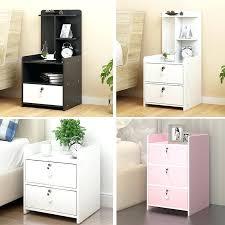 mini bedside table simple modern locker cabinet storage dormitory bedroom assembly