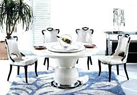 white marble top dining table set circular marble dining table round lazy incredible decoration glass top