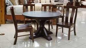dining room furniture round table. alberta round table, laurie shaker chair, dining room collection furniture table r