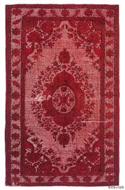 Dyed Rugs K0010646 Carved Dyed Rug Kilim Rugs