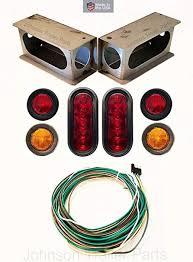 amazon com led light kit for trailers trucks rvs w enclosed steel led light kit for trailers trucks rvs w enclosed steel box wiring harness