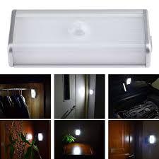 lighting for closet. Motion Sensor Night Light 4 LED Closet /Cabinet/Door Emergency Kitchen Stairs Lighting For E