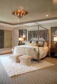 Peach Bedroom Decorating Furniture Minimalist Bedroom Decoration With Wrought Iron Canopy