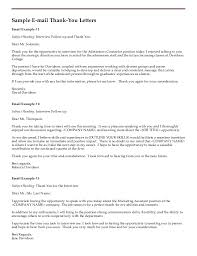 Best Solutions Of Resume Genius Thank You Letter Example Follow Up