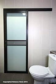 bathroom sliding doors bathroom sliding door a door that slide instead of swinging so that it bathroom sliding doors