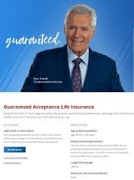 Colonial Penn Rate Chart Colonial Penn Life Insurance Review And The Alex Trebek Life