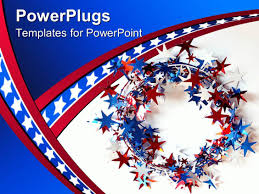 Red White And Blue Powerpoint Templates Red White And Blue Powerpoint Template Pptdl