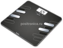 Купить <b>Весы напольные</b> электронные <b>Beurer BF600</b> черный ...