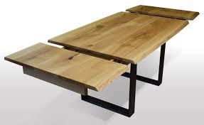 Tisch Mit Baumkante Eiche Breite 100cm Länge Wählbar In 2019
