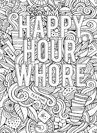 Free Online Coloring Pages For Adults Swear Words