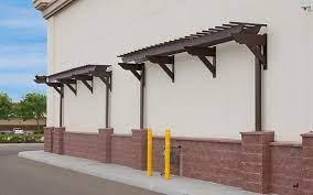 install wall pergola kits by trex