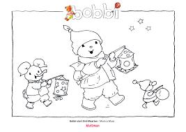 Kleurplaten Bobbi