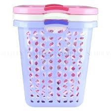 Pink Plastic Laundry Basket Enchanting White Laundry Basket Plastic Product White Plastic Rectangular