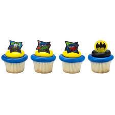 24 Batman Movie Cupcake Cake Rings Birthday Party Lego Favors Cake