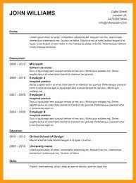 Resume Builder Free Online Printable Free Printable Resume Templates Resume Templates Free Printable As